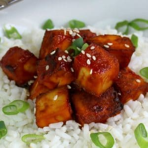 Bringing flavor to tofu is no easy task but this recipe will change how you feel about tofu!