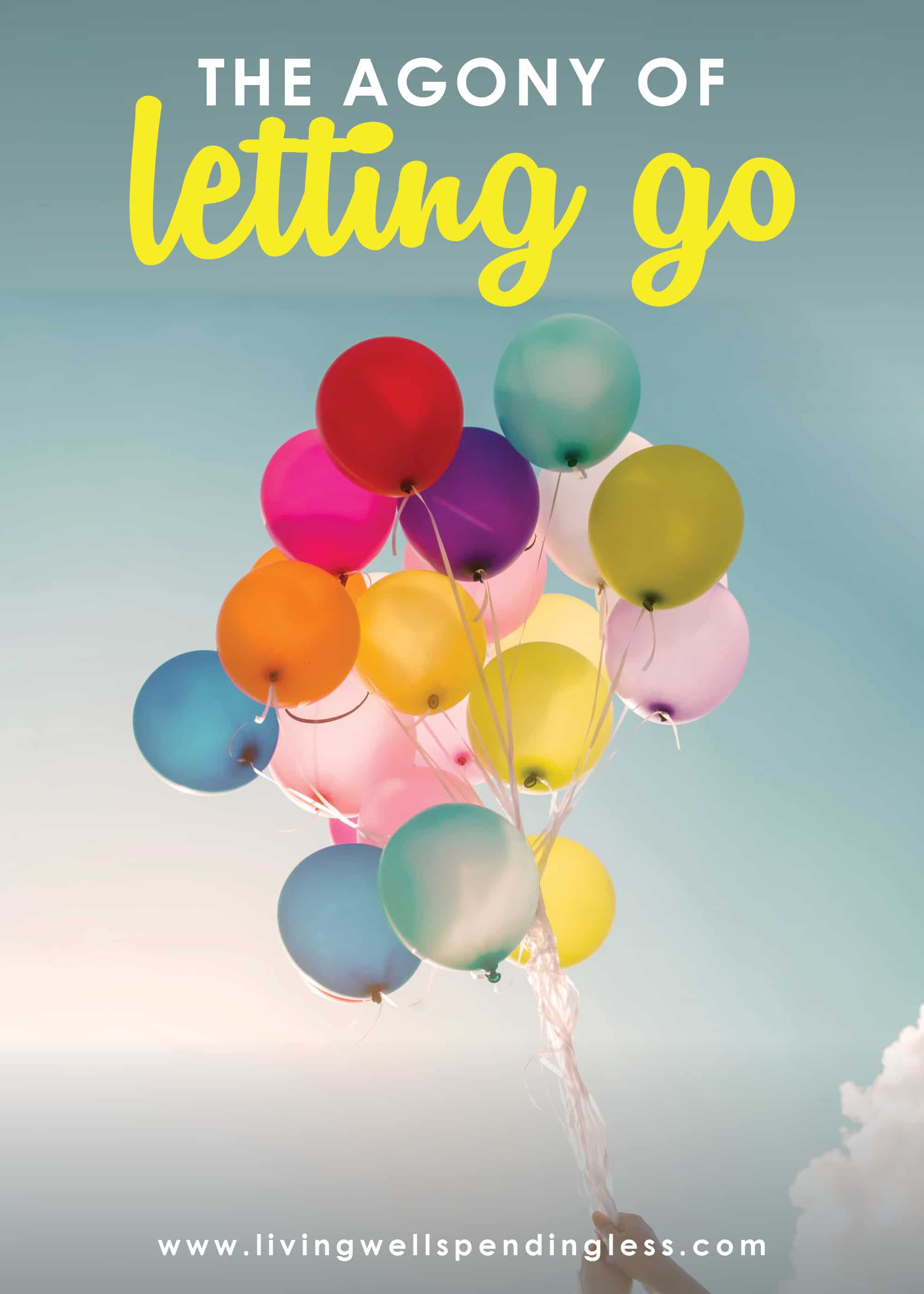 As parents, letting go can be so hard! Our kids need us to be there for them, but they also need us to prepare them for life without them. Don't miss this post that shares how to cope with the agony of letting go. #parenting #parents #raisingchildren #livingwellspendingless #ruthsoukup