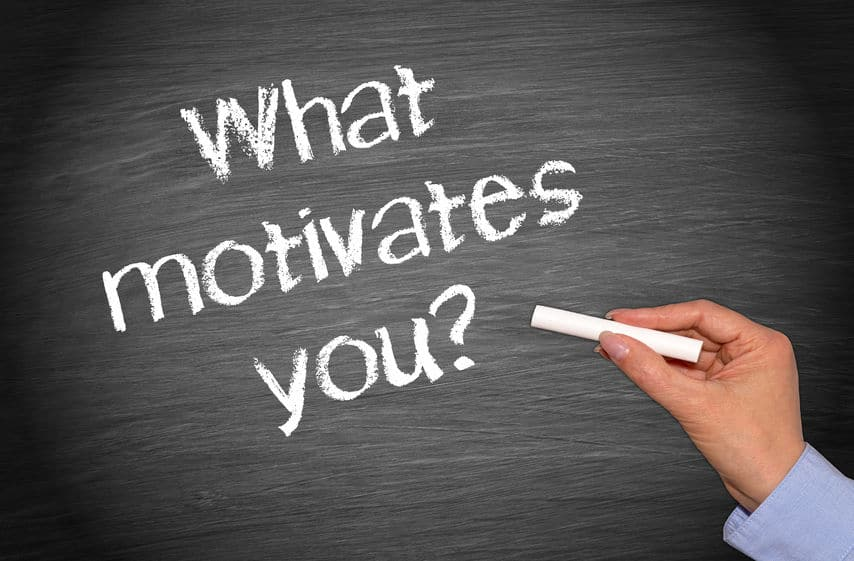 Figure out what motivates you to find success in life.
