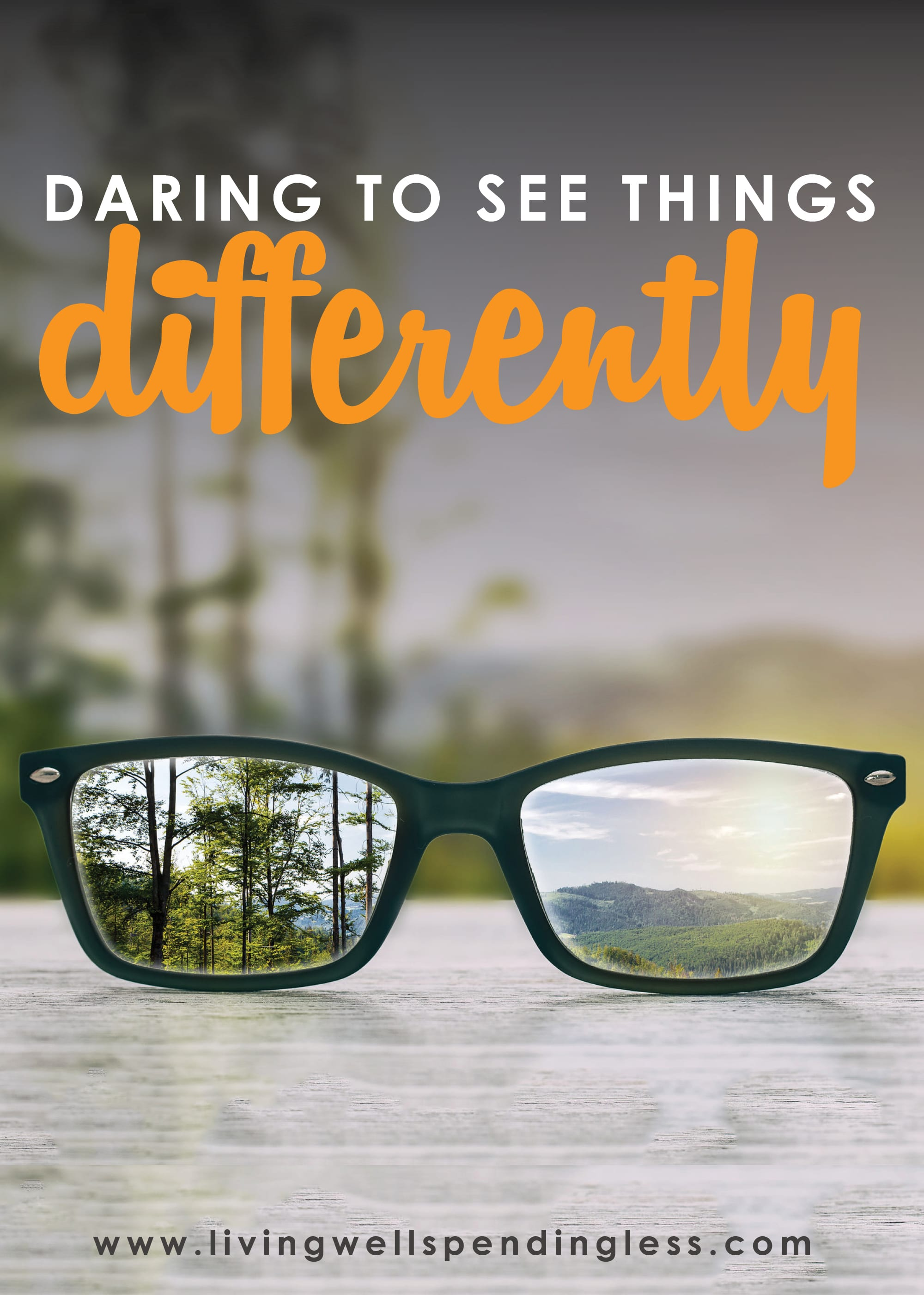 This week's podcast theme is all about daring to see things differently.