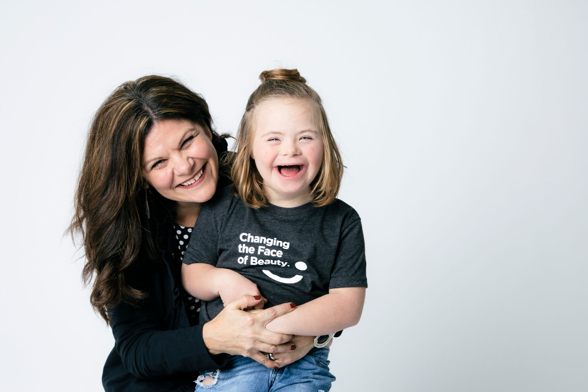 Katie Driscoll and her daughter Grace are changing the face of beauty.