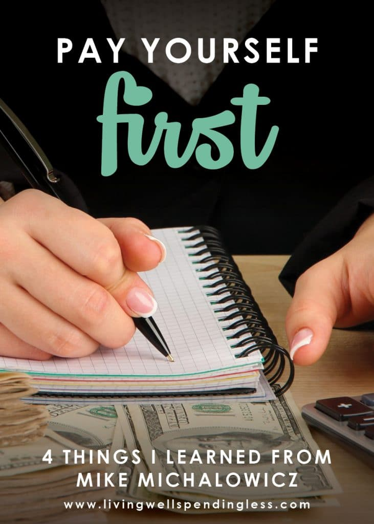 It seems like no matter how much we make, so many of us end up living paycheck to paycheck. But what happens when you start paying yourself first? In this episode of the Do It Scared Podcast, Mike Michalowicz, bestselling author of Profit First, talks about why you need to put profit first, kill your ego, and learn from your biggest mistakes! #livingwellspendingless #doitscared #profitfirst #ruthsoukup #mikemichalowicz