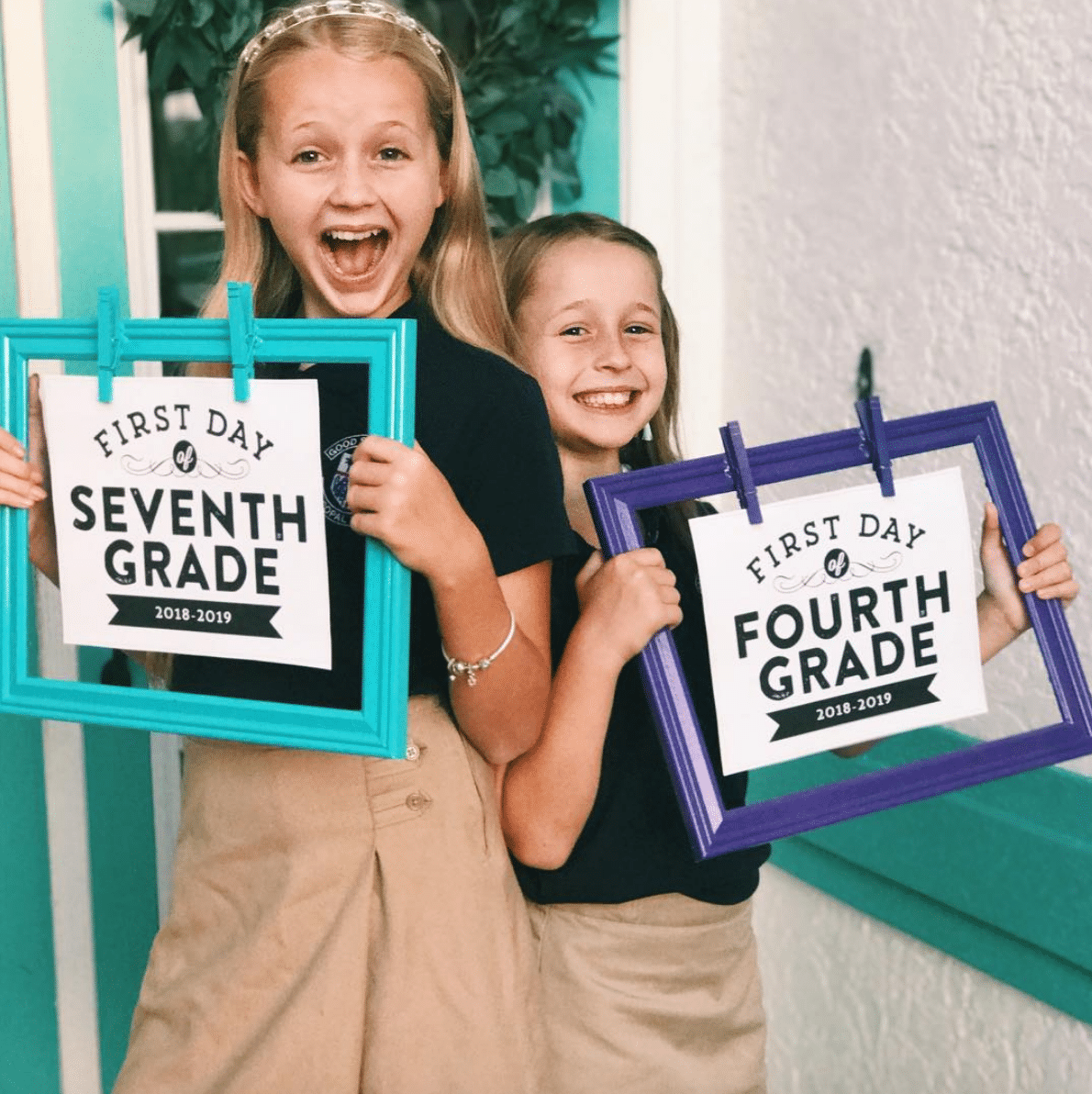 The first day of school is a big deal no matter what grade.