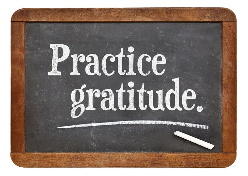 Practicing gratitude can get you through the rough moments of life