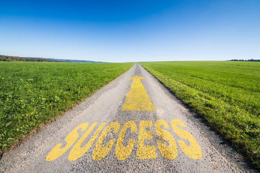 The road to success looks different for every person.