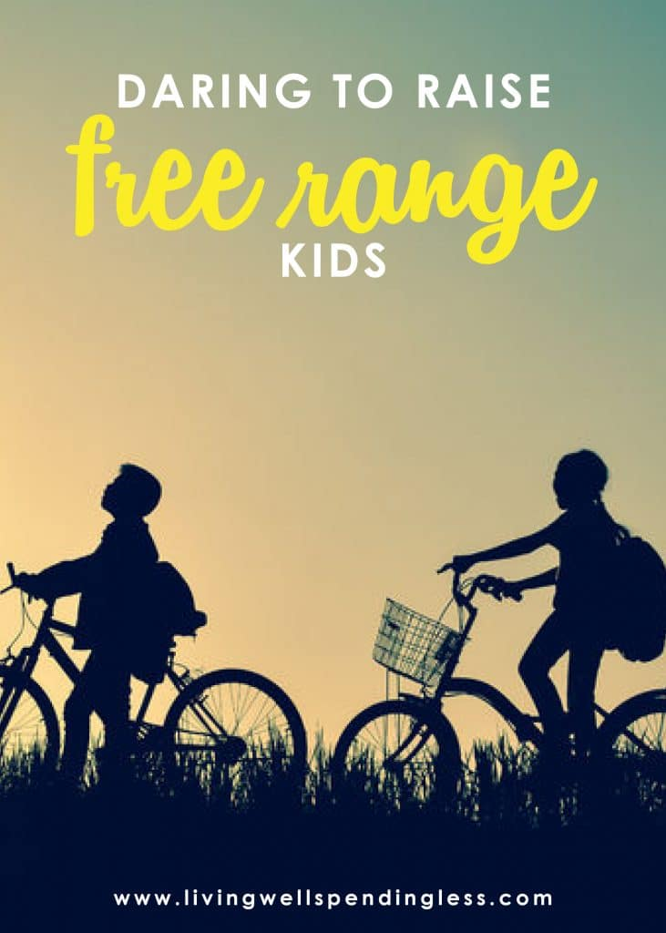 """Let's be real, parenting is HARD. How do we balance our desire to give them everything with the need to let them figure things out for themselves? In this episode of the #doitscaredpodcast, where Ruth talks about how to raise """"free range kids"""" and give them their indepenedence w/o neglecting your parental responsibilities! #livingwellspendingless #doitscared #doitscaredpodcast #doitscaredmovement #parenting #ruthsoukup"""