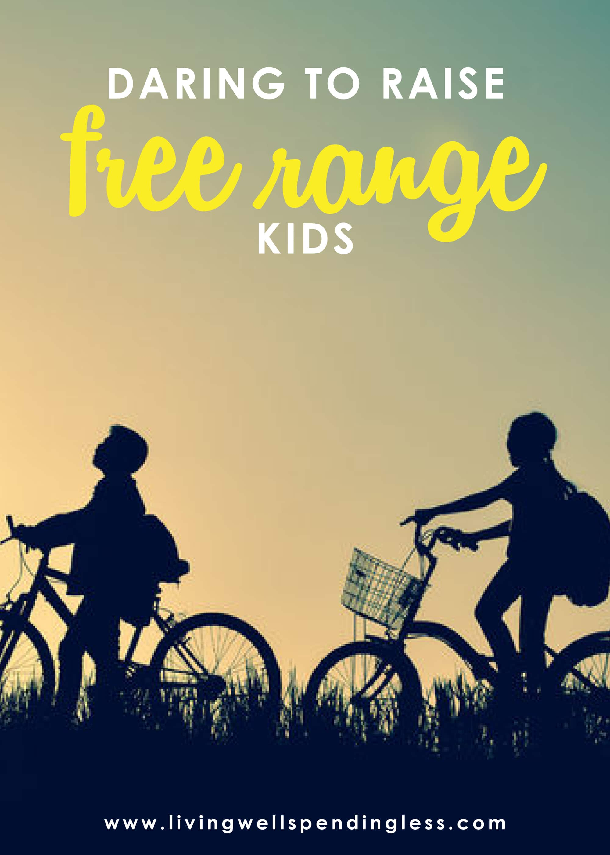 "Let's be real, parenting is HARD. How do we balance our desire to give them everything with the need to let them figure things out for themselves? In this episode of the #doitscaredpodcast, where Ruth talks about how to raise ""free range kids"" and give them their independence w/o neglecting your parental responsibilities! #livingwellspendingless #doitscared #doitscaredpodcast #doitscaredmovement #parenting #ruthsoukup"