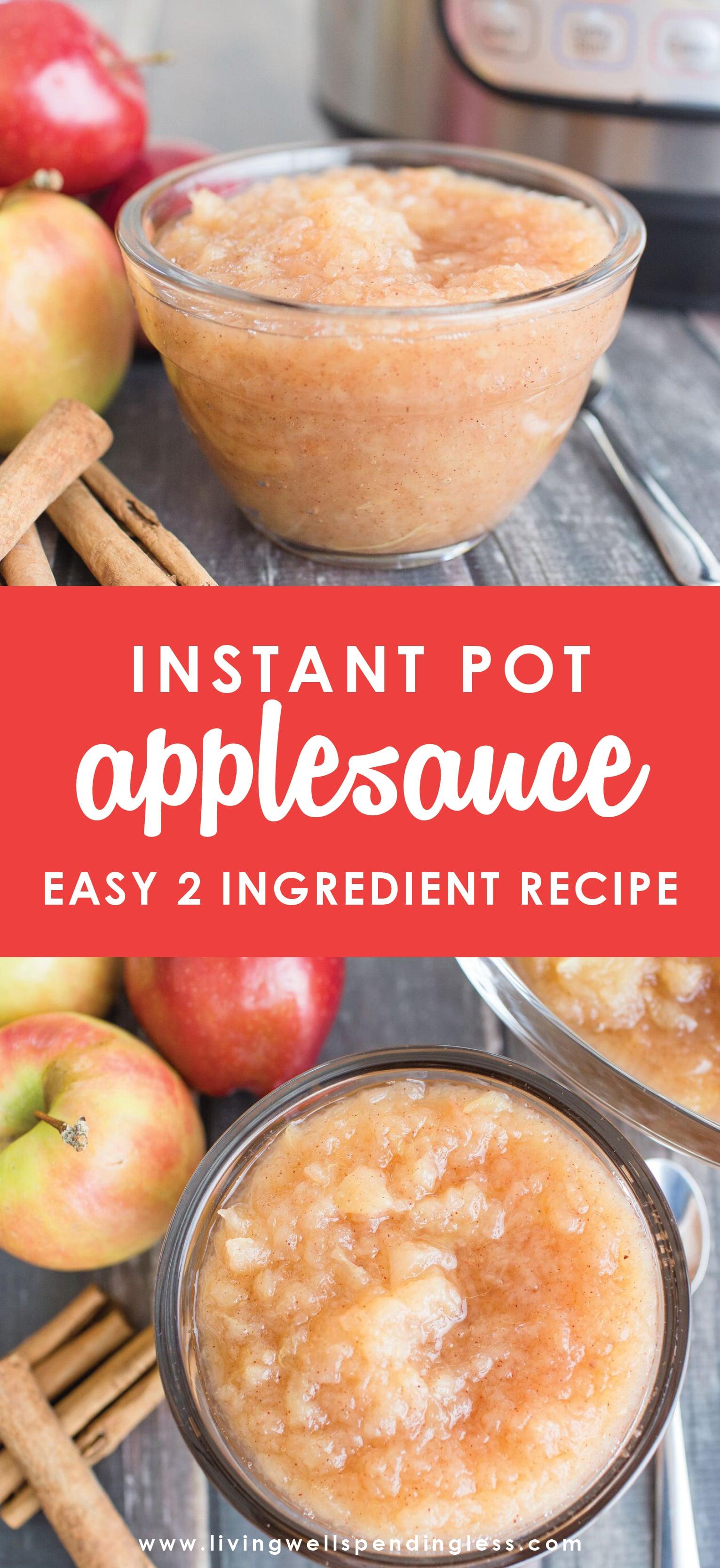 Instant pot applesauce.