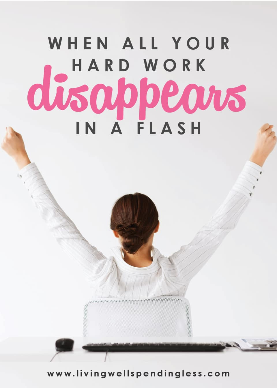 When All Your Hard Work Disappears in a Flash | How to Practice Gratitude