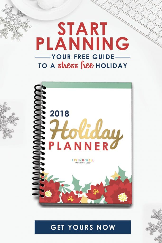 Longing for a holiday filled with more joy & less stress? Our annual Living Well Spending Less Holiday Planner is back and better than ever before! Get it free, but only for a limited time!