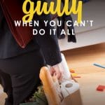 Raise your hand if you have ever felt guilty for not being able to do everything at once. The truth is, no one can do it all. So how do you know if you're choosing the right things? These 4 truths have helped me along the way & may be just what you need to hear today! #livingwellspendingless #productivity #momguilt #motivation #inspiration