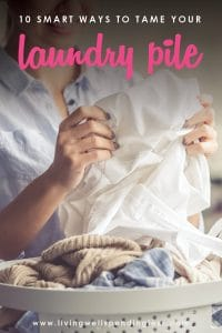 Ever feel like laundry is taking over your life? While there is no magic wand that can make the mountain disappear, there are a few tricks that can help lighten the load! Don't miss these 10 smart ways to tame that laundry pile and take back your sanity!