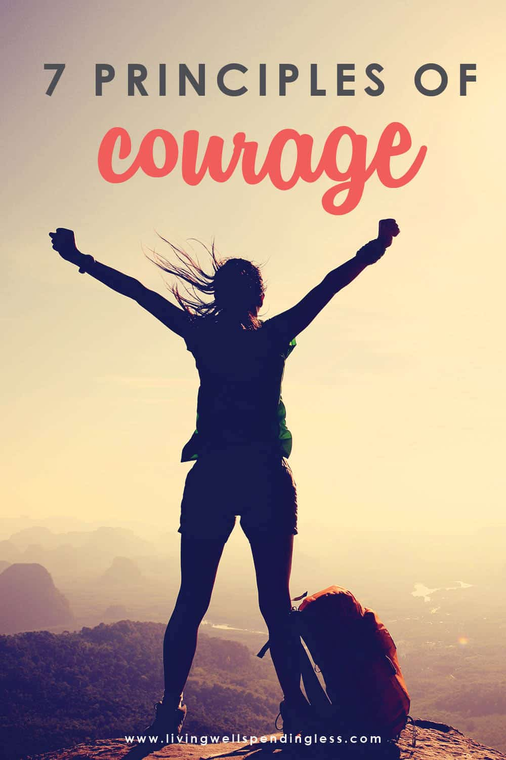 Did you know that most fear happens subconsciously, without us even realizing it? We're so used to hearing that little voice in our heads telling us we're not capable or qualified, but guess what? That voice is lying! Thankfully, there's something you can do about it and it starts with knowing the Seven Principles of Courage. #doitscared #doitscaredmovement #overcomefear #inspiration #motivation #courage