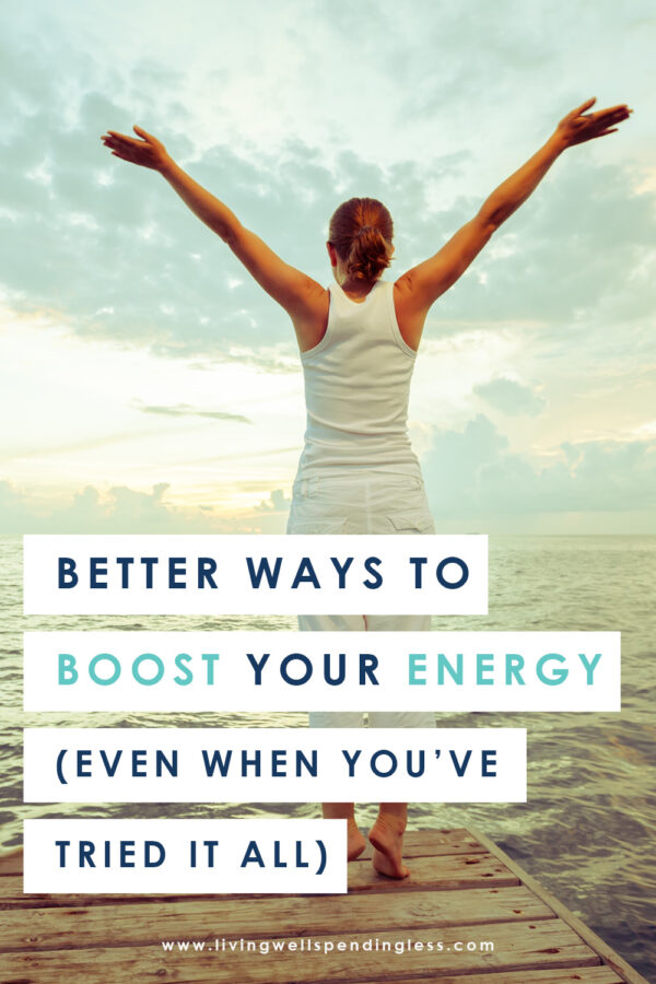 Feeling tired and exhausted all the time? Don't miss these simple tricks to help you boost your energy and feel more rested! #selfcare #relaxation #energy #momlife #tipsformoms