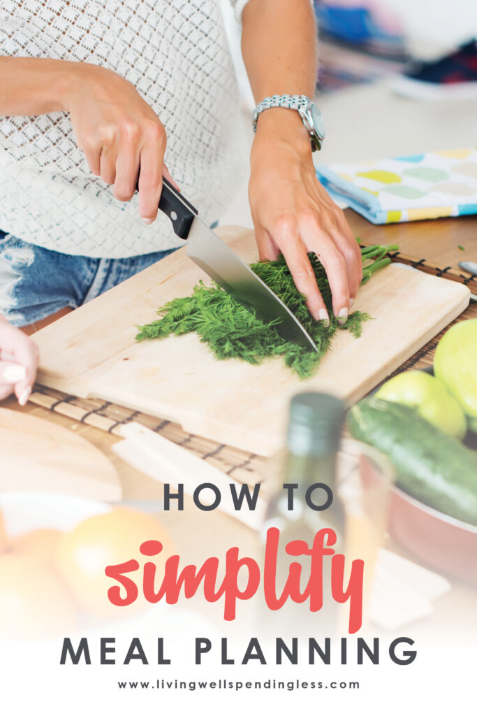 Dreading dinnertime again? Meal planning is easy and will help you get ahead. Don't miss these ten helpful tips for simple meal planning! #mealplanning #mealprep #freezermeals #cookingtips #cooking