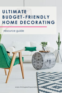 Not sure where to even begin when it comes to decorating your home? Don't miss this ultimate guide for discovering your style & finding the best furniture and accessories (at prices you can actually afford!) #decorating #homedecor #home #decor #decoratingtips #homedecortips