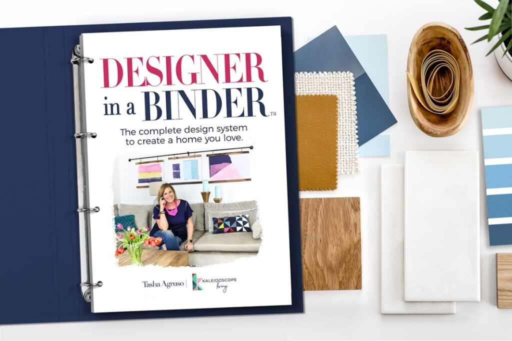 Tasha Agruso's Designer in a Binder is so amazing. It walsk you through all the design steps and helps you narrow down your style choices.