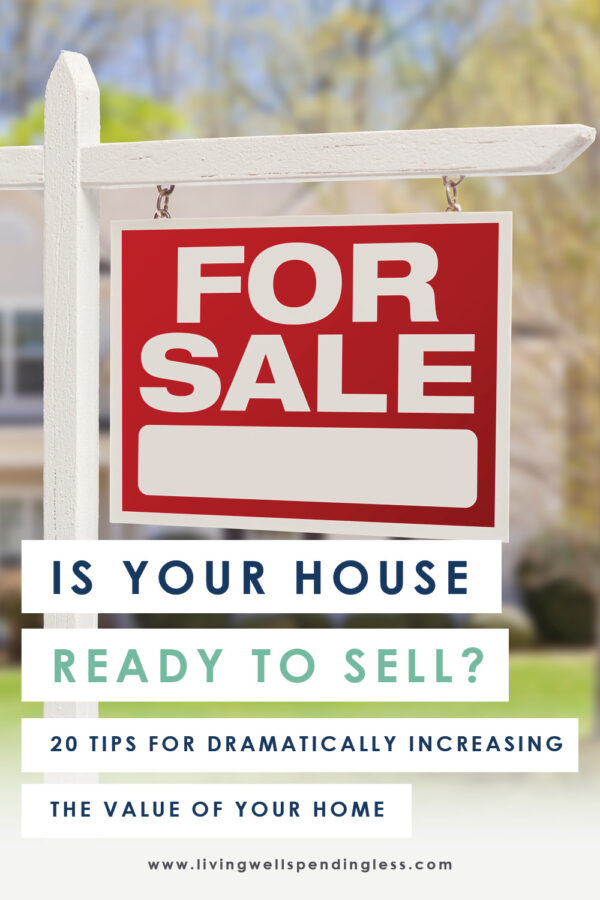 Want to sell your home for top dollar (or maybe just increase your equity?) Then make sure the home improvements you make are actually the ones that will add more value! Here's 20 projects that will dramatically improve the value of your home (and 5 that won't!)