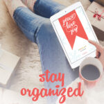 Ready for more joy & less stress this holiday season? Here's everything you need to stay organized all season long. From setting your intentions to planning your menu, setting your budget, and organizing your schedule, you'll be able to breathe a sigh of relief and actually enjoy this most wonderful time of the year! #holidays #organization #holidayplanner