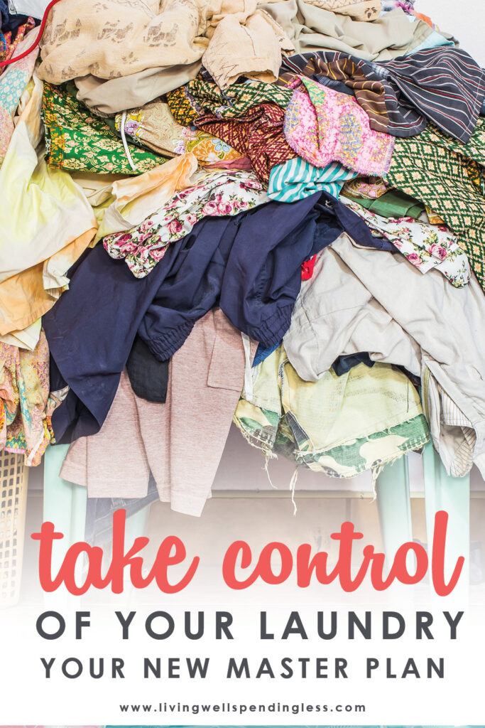 Take control of your laundry with this easy-to-implement master plan that's guaranteed to make your life--and your laundry--a whole lot easier!