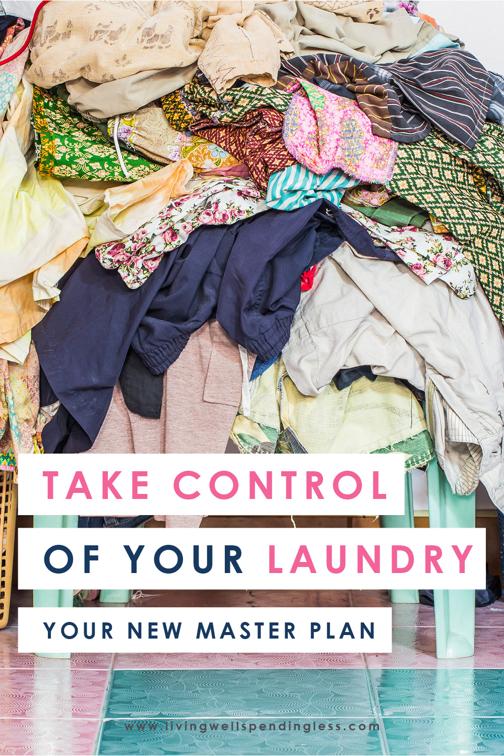 Ever feel like you're drowning in a never-ending pile of laundry? Us too! That's why we decided to take back control with this easy-to-implement masterplan that's guaranteed to make your life--and your laundry--a whole lot easier in just seven simple steps!