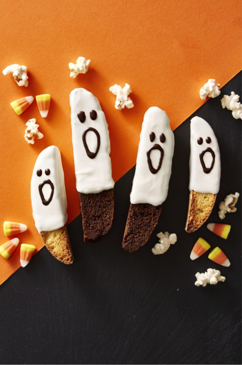 super cute and easy spirited Halloween treats.