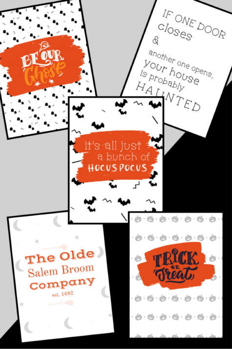 Fun and FREE printables for October!