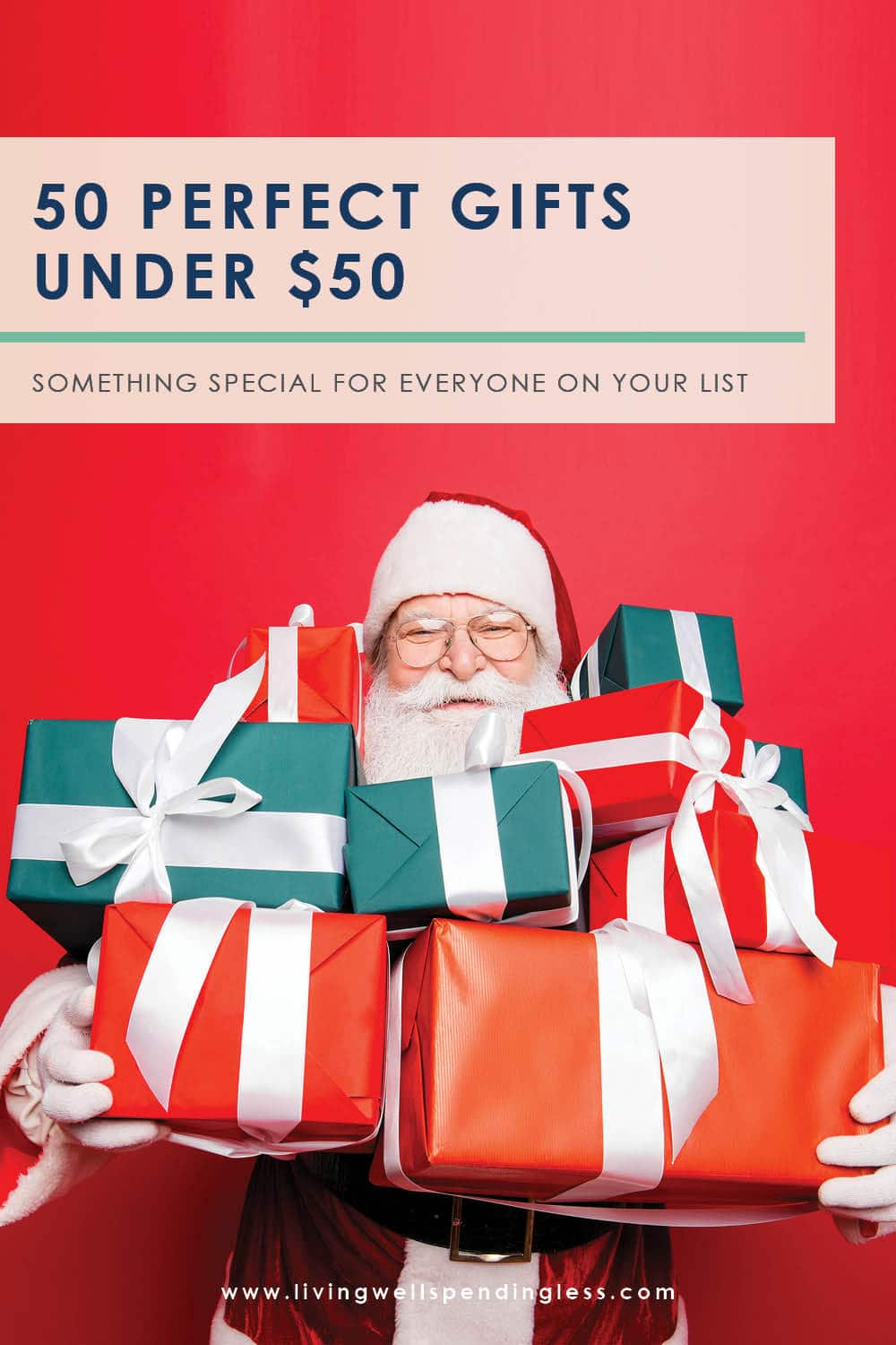 Searching for the perfect gift? Look no further than this ULTIMATE online holiday shopping guide! Our team spent more than 2 weeks competing to find the very BEST gifts in every category - all so you could avoid the mall this year! (You're welcome!) Don't miss these 50 perfect gifts under $50 for every person on your list! #shopping #shoppingtips #giftguides #holiday #shoppingguide #christmas #holidays