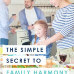 Ever noticed how the holidays can bring out ALL the dysfunction? But for better or worse, family is family, which means that sometimes it's best to just figure out how to get along. Luckily, help is here! Get the simple secret to family harmony....and make your next gathering your best yet!
