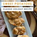 A word of warning--once you've tried these incredible Twice Baked Sweet Potatoes, no other sweet potatoes will ever quite compare! They're not only utterly delicious (not to mention semi-addicting) and also a complete show-stopper for your Thanksgiving dinner. #recipes #thanksgivingrecipes #holidayrecipes #easyrecipes