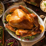 Stressed about Turkey? Help is here! Use this detailed, step-by-step tutorial to walk you through preparing the most perfect moist and juicy roast turkey from start to finish, including the stuffing and the gravy to serve with it.