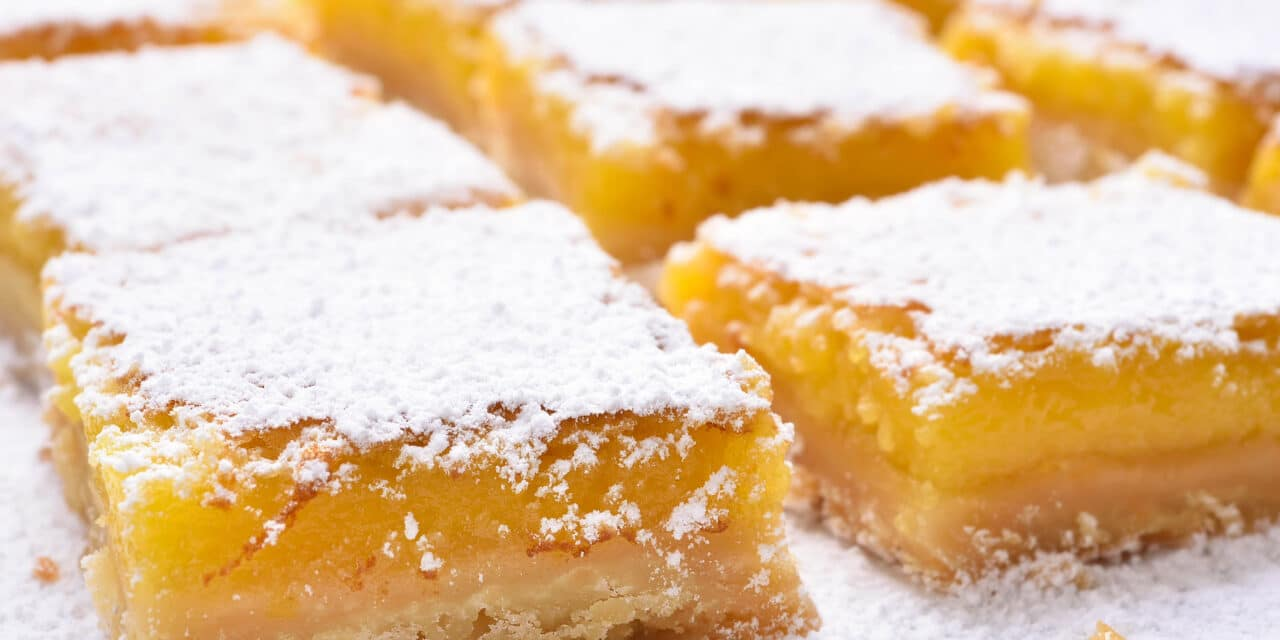 The Best Lemon Bar Recipe Ever