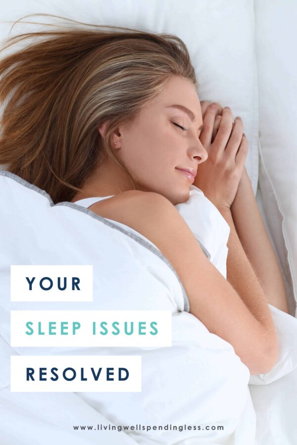 If you constantly feel like you aren't getting enough sleep or are frequently tired, chances are one of these sleep-depriving problems are to blame. Tackle them one at a time and finally get the proper rest you need to be at your best. #sleep #cantsleep #sleepissuesresolved #melatonin #rest