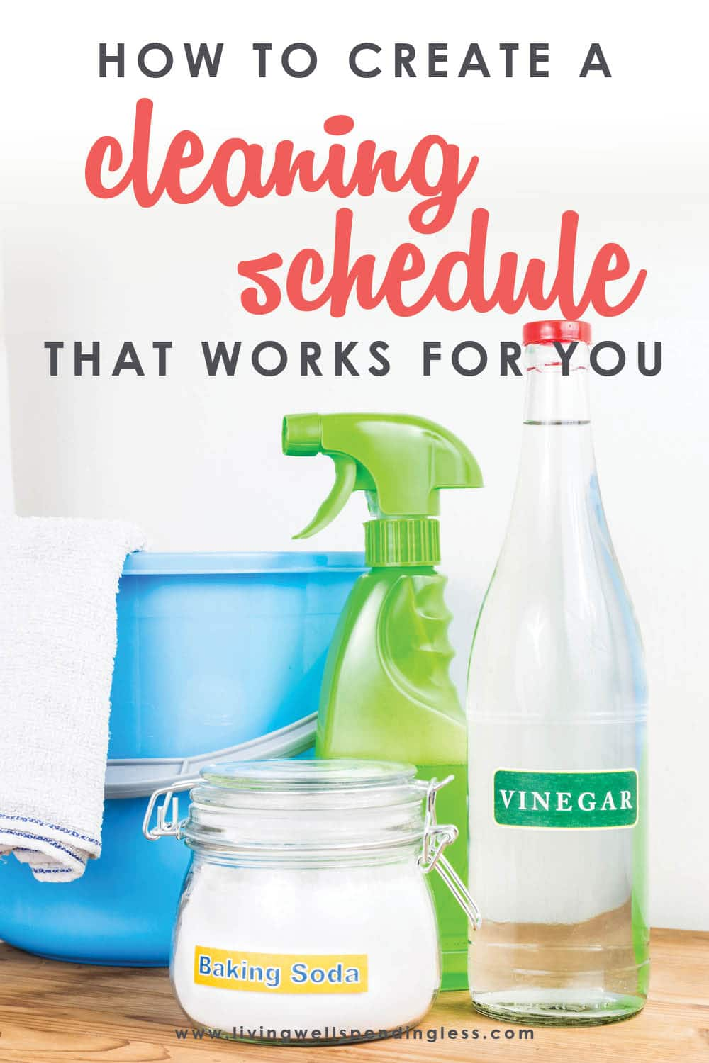 Want a clean house but have no idea where to begin? Believe it or not, a cleaning schedule can actually make keeping your house clean a whole lot easier! In just 3 easy steps, this super practical post will show you exactly how to create a personalized cleaning plan that will work for your own home. FREE DOWNLOADS included making it that much easier for you!