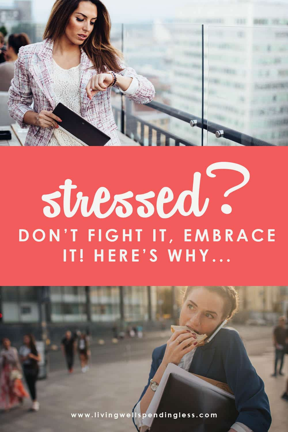 Did you know that stress can be positive? Here are some helpful ways to eliminate the bad stress in your life and embrace the good! #stressrelief #stress #eliminatestress