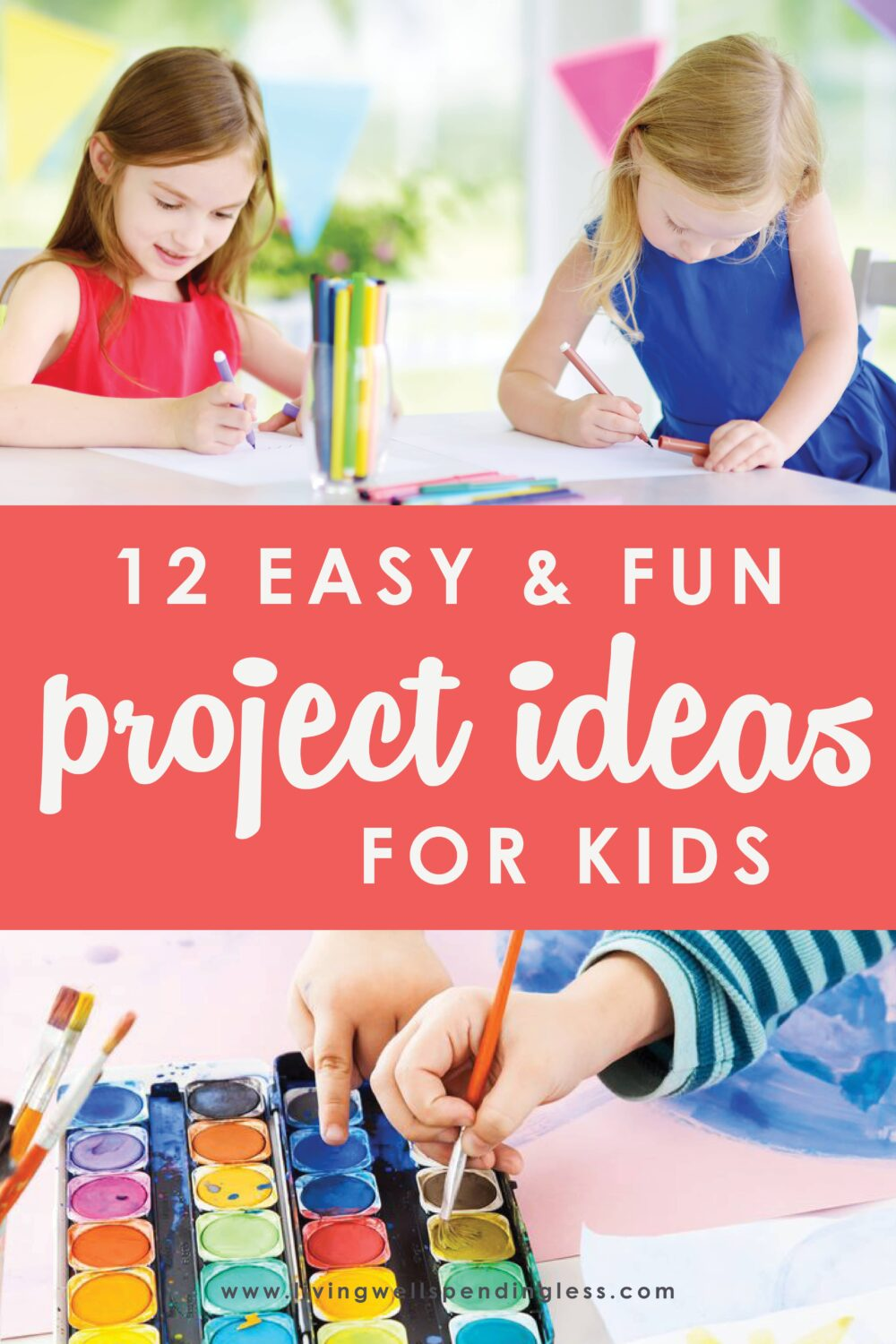 Trying to figure out how to keep your kids from watching tv all day? Check out these 12 tried and tested easy and fun projects to do with the kids during this time of social distancing and self-imposed quarantines. Get the whole family involved! #craftsforkids #crafts #DIY #kidscrafts #socialdistancing #coronavirus #covid19
