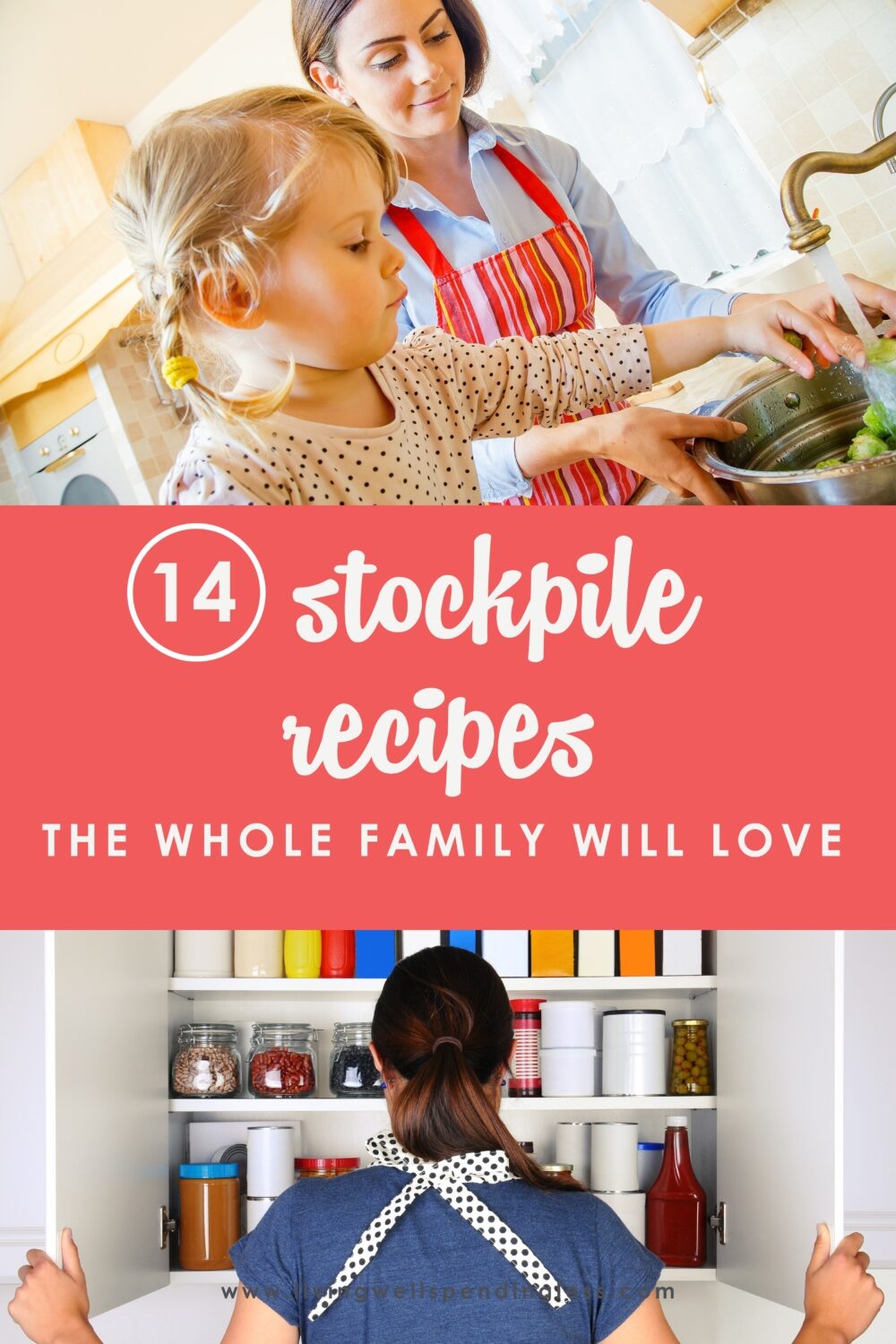 These stockpile recipes will keep your family fed and come together quickly with ingredients you probably already have on hand! #foodmadesimple #stockpilerecipes #familyrecipes #recipes #prepping #preppers #foodprepping