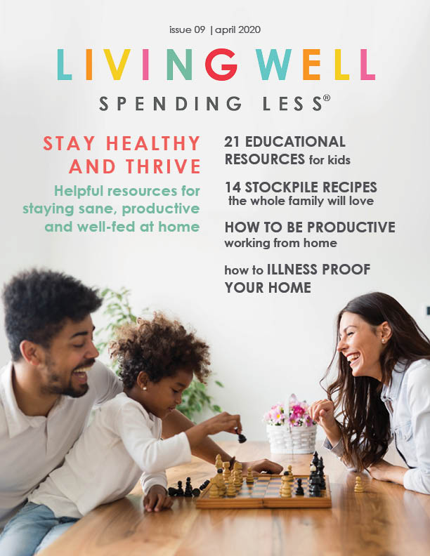 Here at LWSL, we've always focused on providing the tools & resources to help you thrive at home, tips and ideas and guidance for how to live better, clean easier, and get dinner on the table faster. So let us help you during this time of uncertainty to work towards thriving… not just surviving.