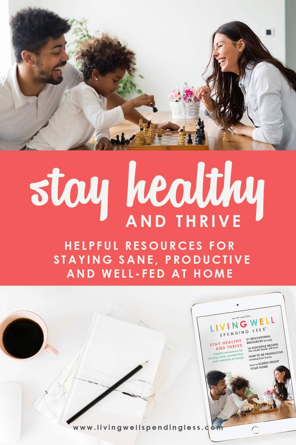 Here at LWSL, we've always focused on providing the tools & resources to help you thrive at home, tips and ideas and guidance for how to live better, clean easier, and get dinner on the table faster. So let us help you during this time of uncertainty to work towards thriving… not just surviving. #thrive #covid19 #stayhealthy
