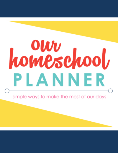 Our Homeschool Planner cover