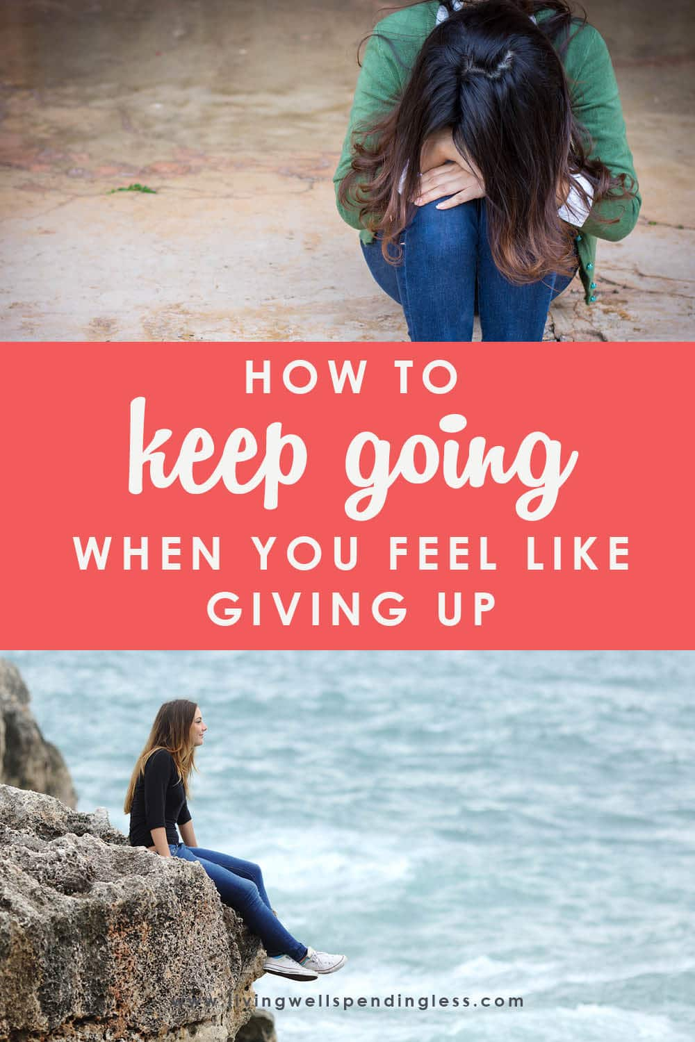 Have you ever felt like giving up? Ruth talks about how having the grit and persistence to persevere is the key to success, and how YOU can keep going even when the going gets tough! #livingwellspendingless #ruthsoukup #doitscaredpodcast #inspiration #motivation #doitscared