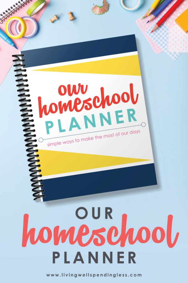 Need a better homeschooling technique to stay organized? #homeschoolplanner #homeschoolingtips #printableplanner #elearningThis free printable homeschool planner is the perfect tool for planning ahead!