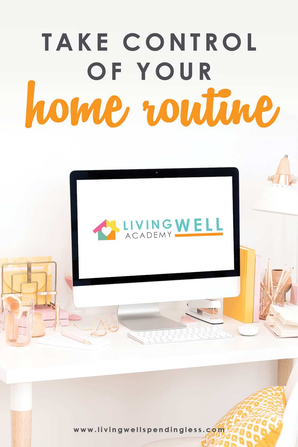 Want to Take Control of Your Home Routine? Don't Miss This! | Living Well Academy The world is a little crazy right now, and with all the stress and uncertainty going around, something to focus on to help you in all areas of life might be exactly what you need. Living Well Academy is a life management course created explicitly to help you feel productive and confident in four key areas: habits and routine, simplifying mealtime, keeping tidy, and mastering money. After this course, you will feel ready to tackle whatever craziness comes your way! Don't miss this first launch that we'll be hosting live! #lifegoals #mastermoney #smartmoney #foodmadesimple