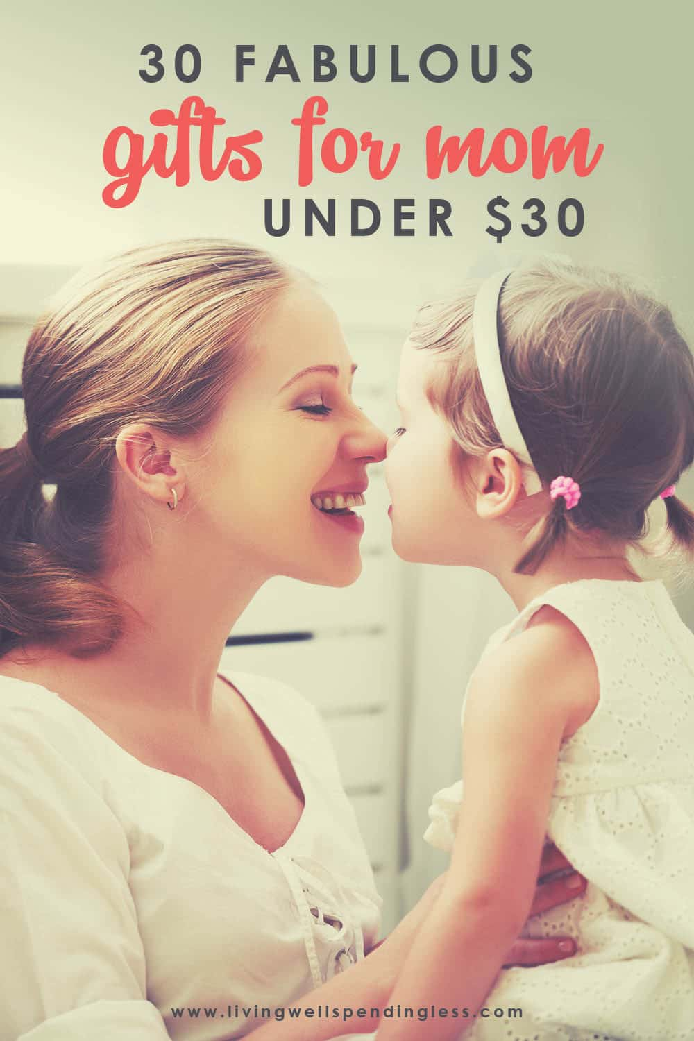Looking for some perfect and affordable Mother's Day gifts? Here's your chance to make your Mother's day extra special with these 30 gifts all under $30! #mothersday #giftsunder30 #giftgiving #gifts #bargainshopping #momgifts #giftsformom #giftguide