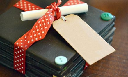 DIY Chalkboard Coaster Set