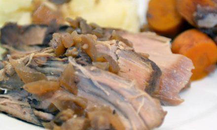 Slow Cooked Pork Tenderloin
