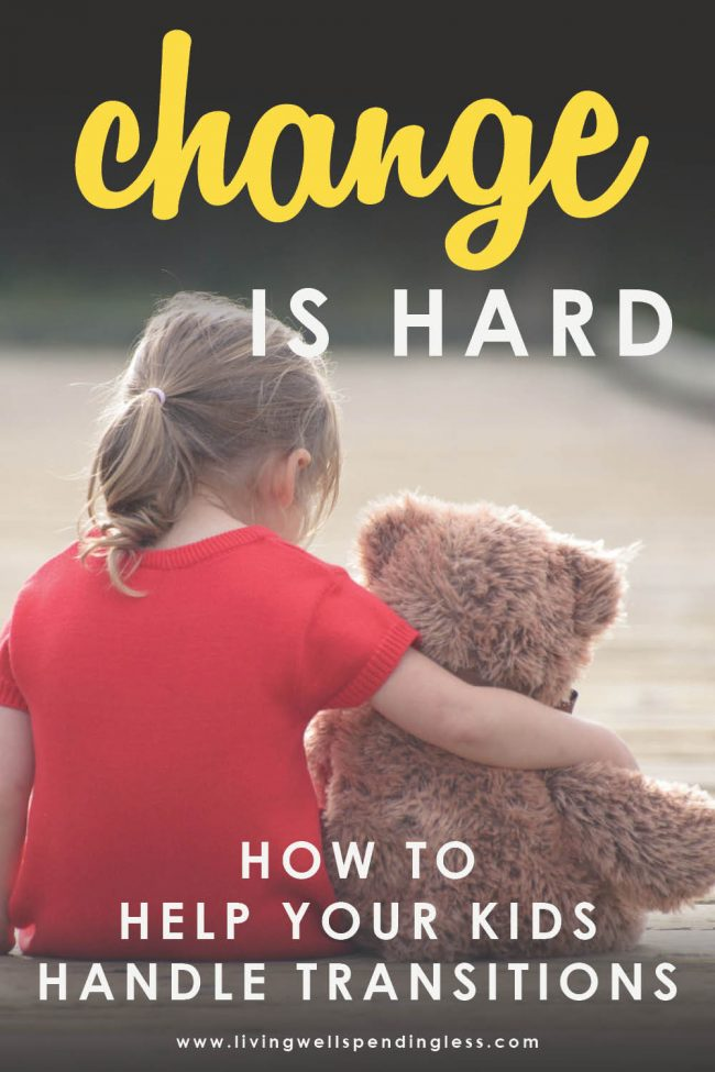 Looking for the best way to help your kids handle transitions? Here are 11 tips for helping your children cope with both the big and little changes!