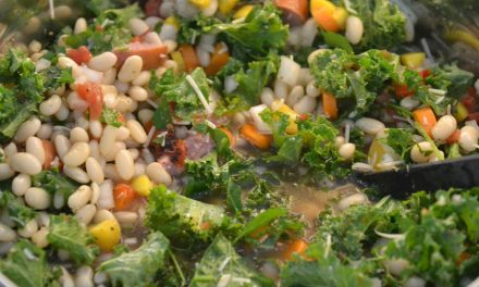 Kale & White Bean Soup with Sausage