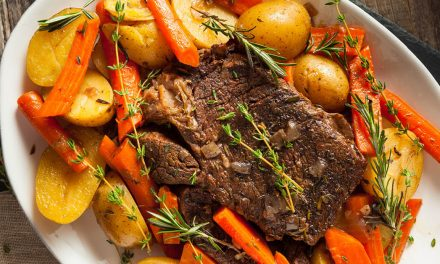 The BEST EVER Easy Slow Cooker Pot Roast